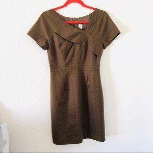 J crew wool pencil dress